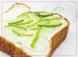 食パンに塗る