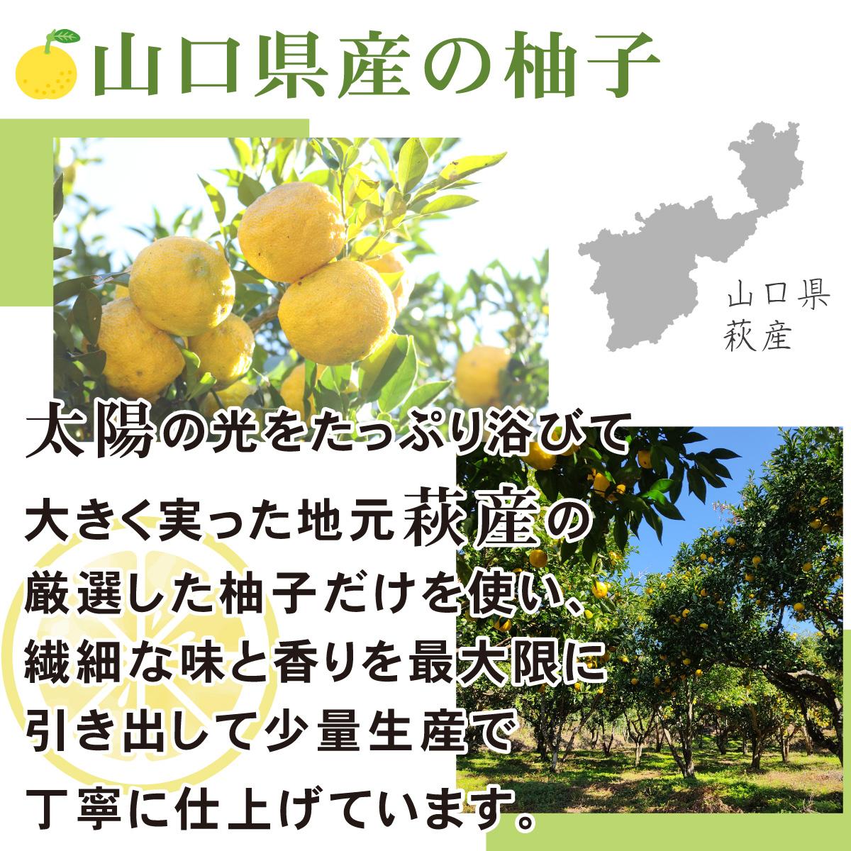 山口県産の柚子を使った柚子マーマレード