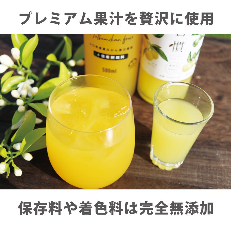 プレミアム果汁を贅沢に使用。保存料や着色料は無添加です