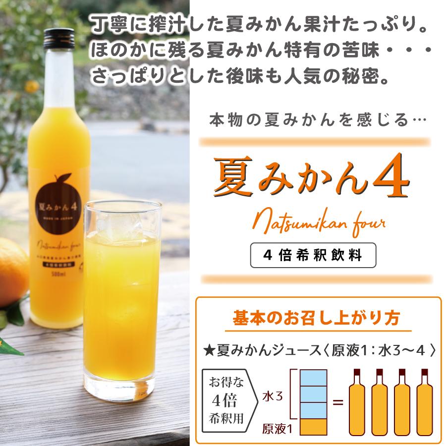 丁寧に搾汁した夏みかん果汁たっぷり。