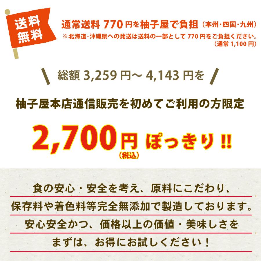 お味見チョイスは送料無料!2,700円ぽっきり!